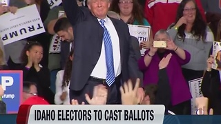 Idaho electors to vote for President - Video