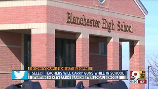 Blanchester school board approves arming some staffers - Video
