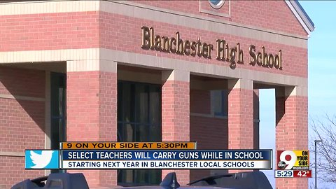 Blanchester school board approves arming some staffers