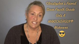 My Good Friend Cathy Gets A MAKEOVERGUY® Makeover