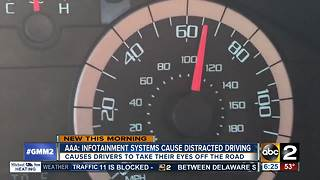 Study: infotainment systems can distract drivers - Video