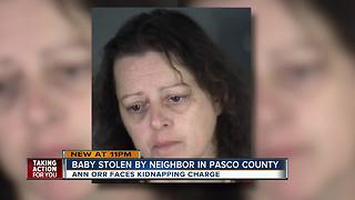 Woman arrested for kidnapping neighbor's son - Video