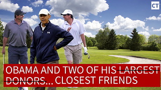 This Joke About Obama Golfing Absolutely Nails It - Video