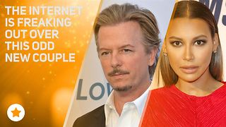 Naya Rivera & David Spade are confusing EVERYONE - Video
