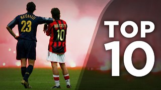 Top 10 Most Insane European Rivalries - Video