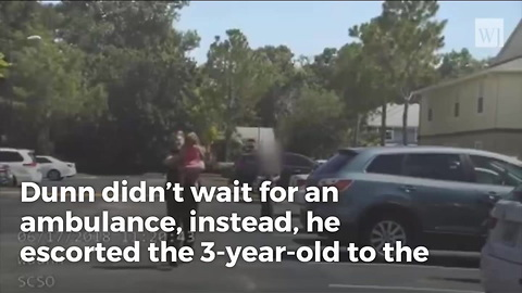 Heartpounding Moment Cop Saves Age 3 Girl Left in Hot Car for 12 Hours
