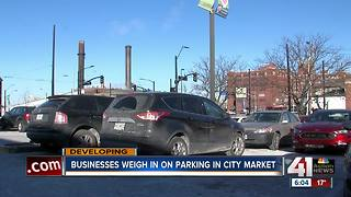 City Market tenants concerned with parking plan - Video