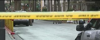 Man shot by security guard downtown