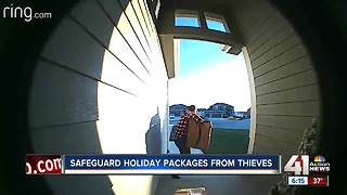 Porch pirates poaching holiday packages in KC - Video