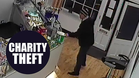 """Thief, given free ice cream, branded """"Utter low life"""" after brazenly stealing charity money box"""