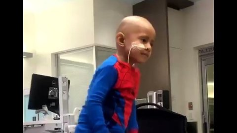 5-Year-Old Boy With Cancer Proves Nothing Will Stop His Fantastic Dance Moves