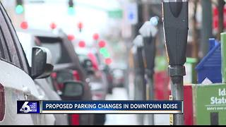 Boise proposes parking changes downtown