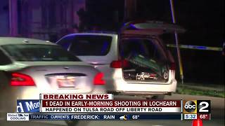 1 dead in early morning shooting on Liberty Road in Baltimore County - Video