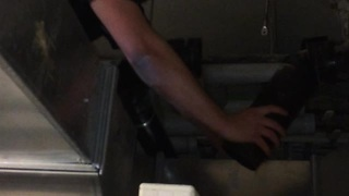 Plumber Experiences A Malfunction While Switching A Sewage Relay