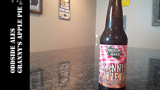 OddSide Ales Grannys Apple Pie Beer Review  - Video