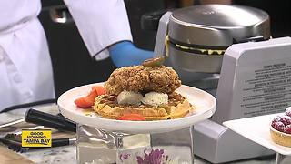 Streamsong chef offers up chicken and waffles recipe for Mother's Day brunch - Video