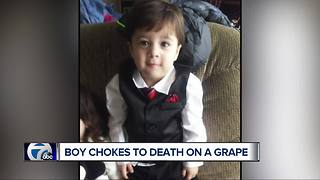 Local family devastated after toddler chokes on grapes while shopping - Video