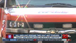 Hall Ambulance response times don't meet standards - Video