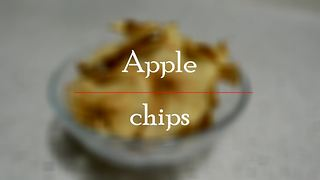 How to make homemade cinnamon apple chips - Video