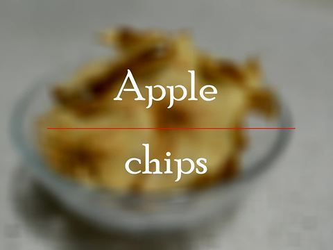 How to make homemade cinnamon apple chips