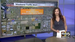 What roads to avoid this weekend in Valley - Video