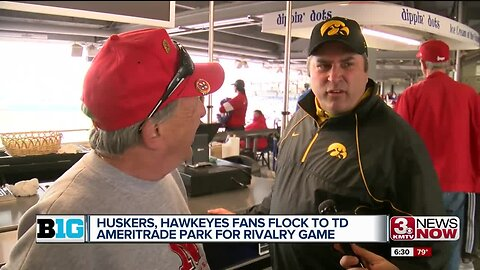 Fans Flock to TD Ameritrade Park for Rivalry Game