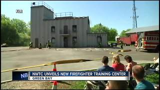 NWTC unveils new firefighting training center during fire prevention week - Video