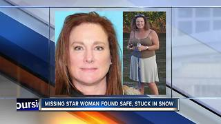 Missing Treasure Valley woman found safe, stuck in snow in Oregon - Video