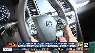 AAA teaches older drivers new technology in cars - Video