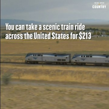 Scenic Train Ride Across U S Can Be As Low As 213
