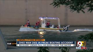 PD: Man killed in boat crash in Ohio River - Video