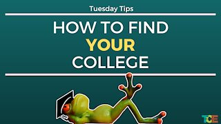 How to Find Your College