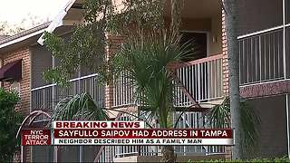 Tampa woman remembers NYC terror suspect as 'family man' - Video