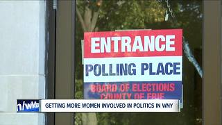 Getting more women involved in WNY politics - Video