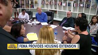 FEMA extends housing deadline for Hurricane Maria evacuees - Video