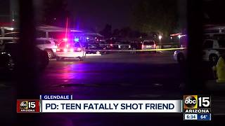 Teen fatally shoots friend - Video