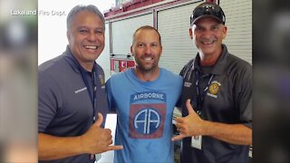 Lakeland firefighter recovers from rare disorder, returns to work