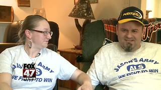 Grand Ledge community comes together to help local family - Video