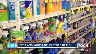 Best and worst drug store purchases - Video