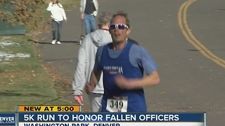 5K run to honor fallen officers - Video