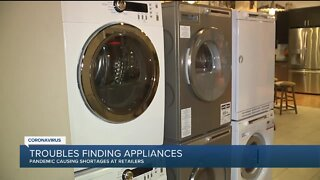 Nationwide appliance shortage leaves customers on long wait lists