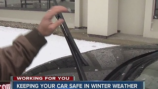 Tips for keeping your car safe in winter weather - Video