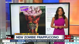 NEW Starbucks Zombie Frappuccino - Video