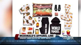 MacDonalds Hamburger Hoodies - Video