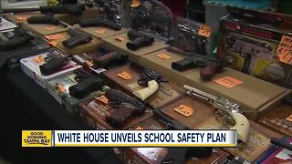 White House unveils new school safety plan - Video