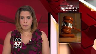 Lenawee Judge: I'm out for 6 months for sexual harassment - Video