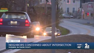 Neighbors concerned about intersection