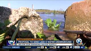 Proposal would send Lake Okeechobee water discharges underground - Video