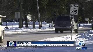 Romulus cracking down on speeders - Video