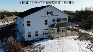 Building a Post Frame Home | The American Dream